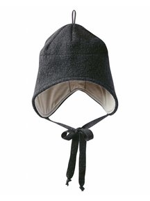 Disana Boiled Wool Hat - Anthracite