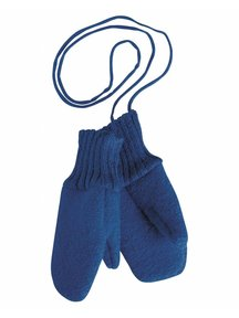 Disana Mittens Boiled Wool - Navy