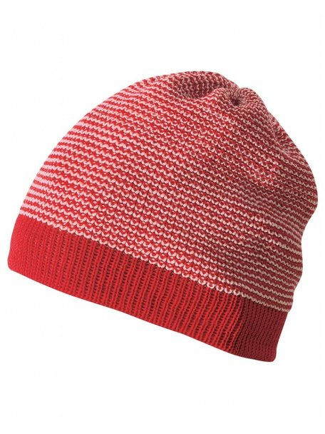 Disana Beanie Organic Wool - Red