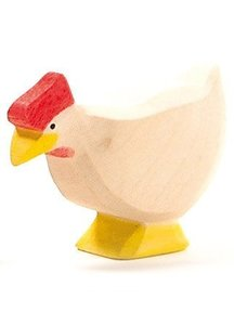 Ostheimer Hen Standing - White