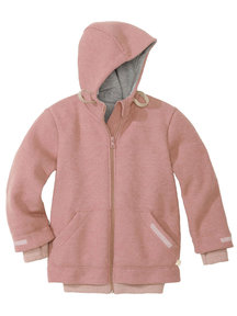 Disana Outdoor Jacket Boiled Wool - rose