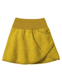 Disana Skirt Boiled Wool - Curry