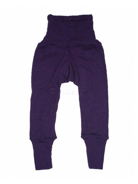 Cosilana Baby Pants Wool/Silk - Purple