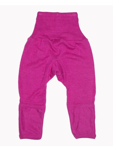 Cosilana Baby Pants With Scratch Protection Wool/Silk - Pink