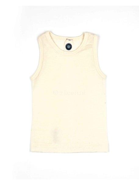 Cosilana Kids Sleeveless Vest Wool/Silk - Natural