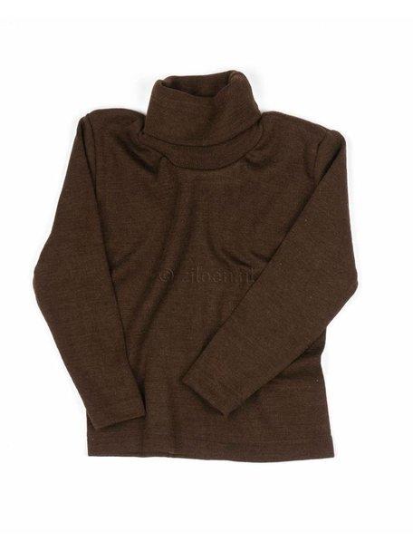 Cosilana Kids Turtleneck Wool/Silk - Brown