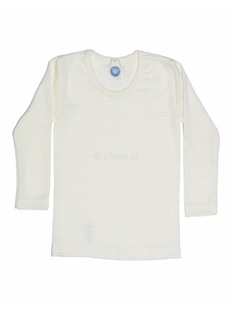 Cosilana Kids Longsleeve Wool/Silk - Natural