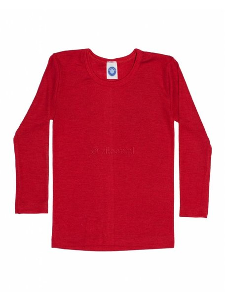 Cosilana Kids Longsleeve Wool/Silk - Red