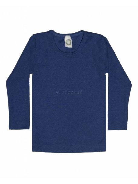 Cosilana Kids Longsleeve Wool/Silk - Navy