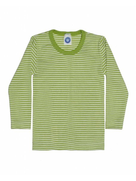 Cosilana Kids Longsleeve Striped Wool/Silk - Green