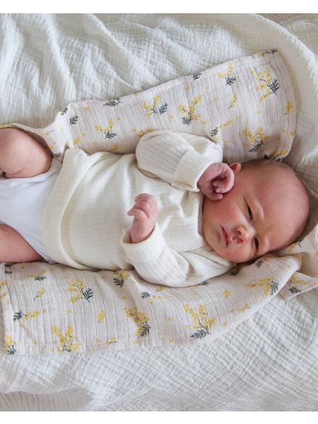 Cosilana Baby Top Wool/Silk/Cotton - Natural