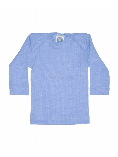 Cosilana Baby Top Wool/Silk/Cotton - Blue