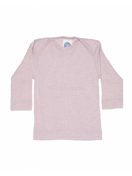 Cosilana Baby Top Wool/Silk/Cotton - pink
