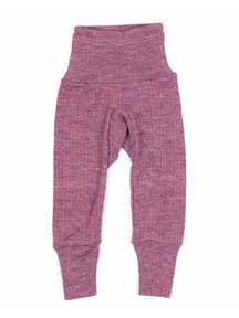 Cosilana Baby Pants Wool/Silk/Cotton - Burgundy