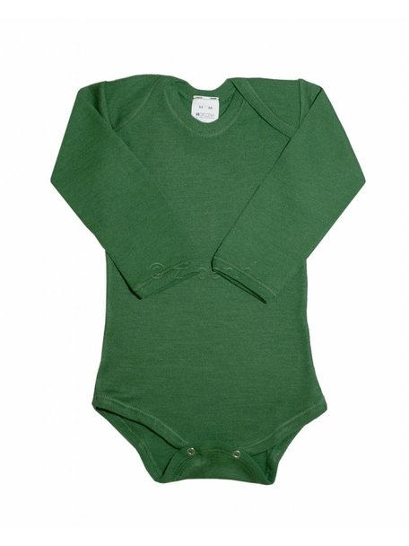 Hocosa Baby Body Wool/Silk - Green