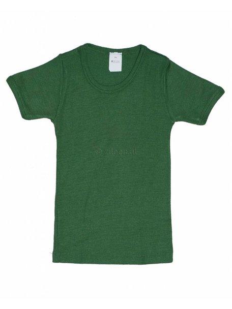 Hocosa Kids T-Shirt Wool/Silk - Green