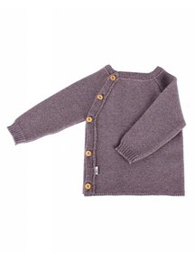 Popolini iobio Wrap Cardigan Wool - Brown