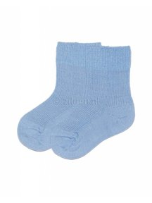 Grödo Baby Socks Wool - Light Blue