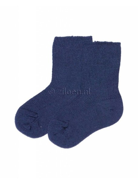 Grödo Baby Socks Wool - Blue