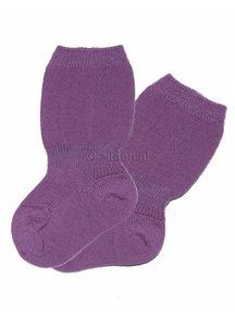 Grödo Baby Socks Wool - Lilac