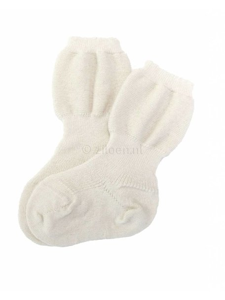 Grödo Baby Socks Wool - White/Natural