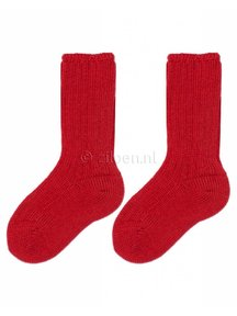 Grödo Thick Kids Socks Wool - Red