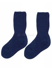 Grödo Thick Kids Socks Wool - Dark Blue