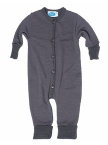 Reiff Jumpsuit Organic Wool - Grey