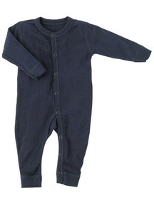 Joha Jumpsuit wool/silk - Marine