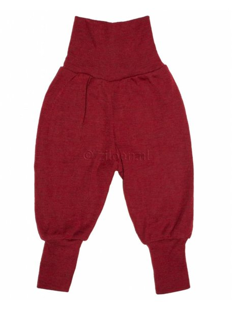 Engel Natur Baby Pants Long Waistband - Red