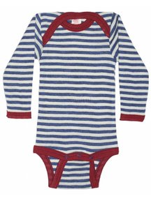 Engel Natur Baby Body Wool - Blue