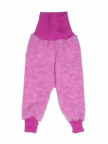 Cosilana Pants Wool Fleece - pink