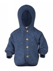 Engel Natur Wool Fleece Jacket - Blue