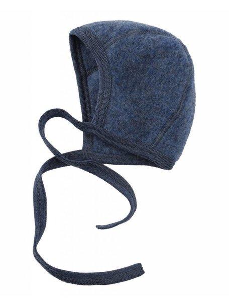 Engel Natur Bonnet Wool Fleece - Blue