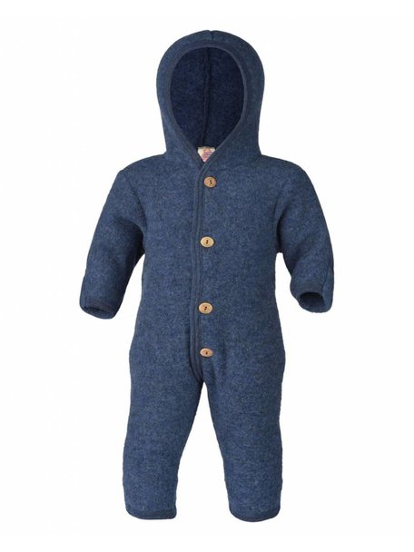 Engel Natur Overall Wool Fleece - Blue