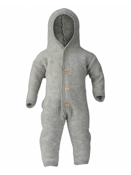 Engel Natur Overall Wool Fleece - Grey