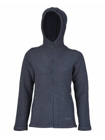 Engel Natur Jacket Women Wool Fleece - Blue