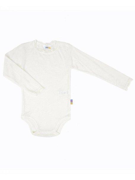 Joha Body long sleeves wool/silk - Natural