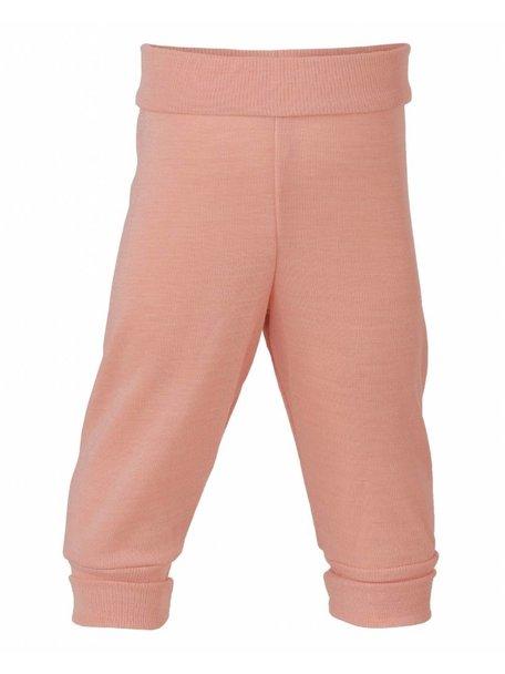 Engel Natur Baby Pants Waistband Wool/Silk - Salmon