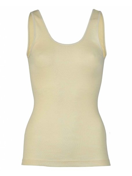 Engel Natur Sleeveless Vest Women Wool/Silk - Natural