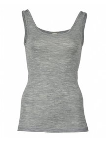 Engel Natur Sleeveless Vest Women Wool/Silk - Grey