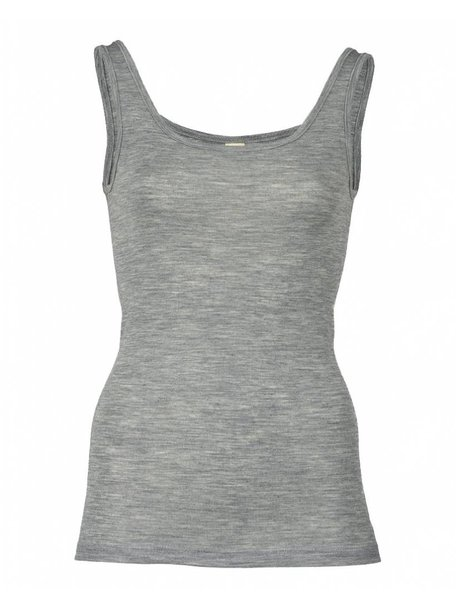 Engel Natur Sleeveless Vest Women Wool/Silk - Grey