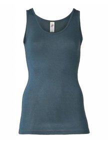 Engel Natur Sleeveless Vest Women Wool/Silk - Atlantic