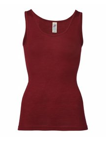 Engel Natur Sleeveless Vest Women Wool/Silk - Mauve