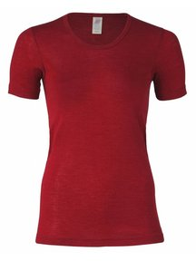Engel Natur T- Shirt Women Wool/Silk - Mauve