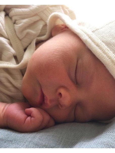 Engel Natur Baby Bonnet Wool/Silk - Natural