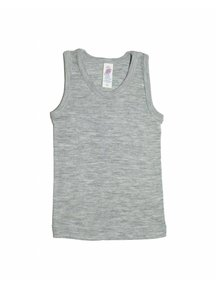 Engel Natur Sleeveless Top Kids Wool/Silk- Grey
