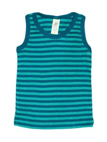 Engel Natur Sleeveless Top Kids Wool/Silk- Ice blue