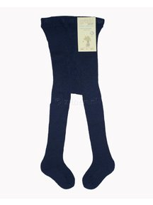Grödo Thick Baby Tights Wool - Dark Blue