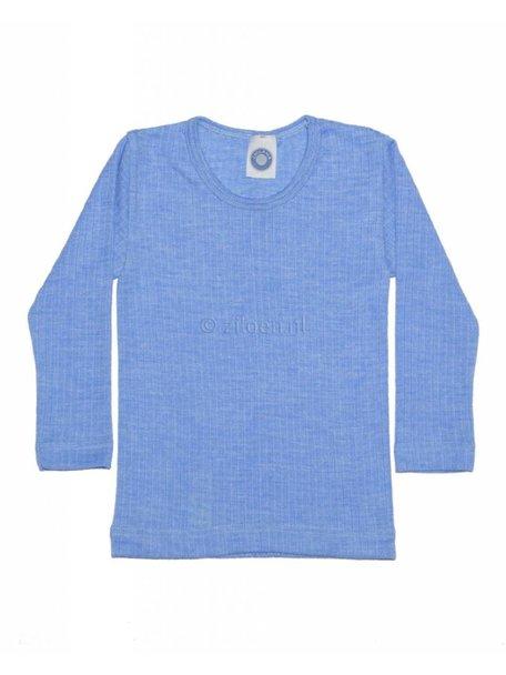 Cosilana Kids Longsleeve Wool/Silk/Cotton - Blue